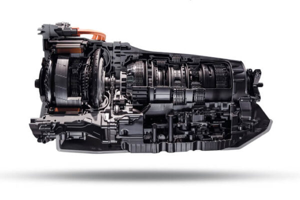 Intricate view of engine