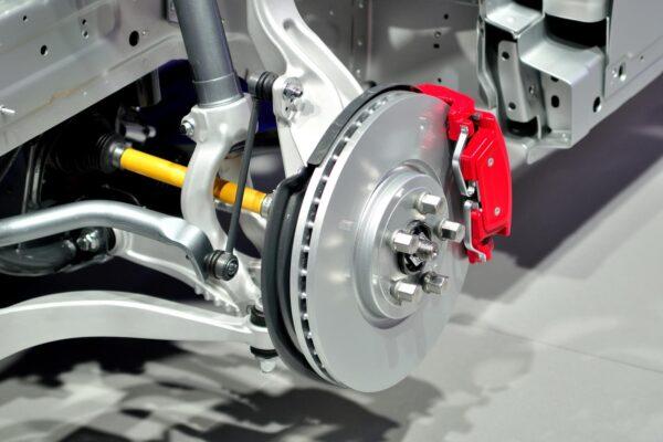 Servicing parts of car